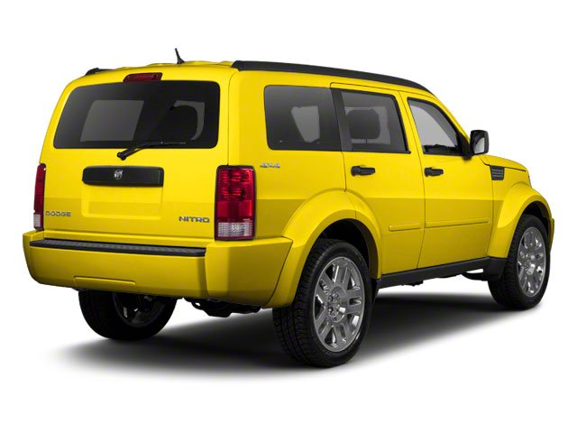 Detonator Yellow 2010 Dodge Nitro Pictures Nitro Utility 4D Shock 2WD photos rear view