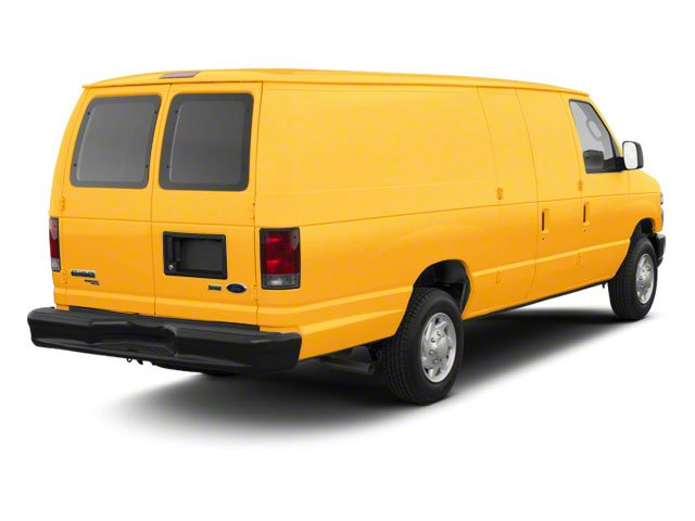 School Bus Yellow 2010 Ford Econoline Wagon Pictures Econoline Wagon Super Duty Extended Wagon XL photos rear view