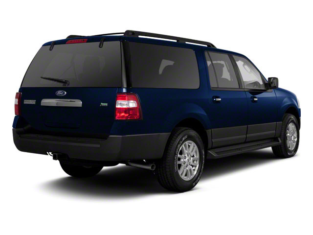 Dark Blue Pearl Metallic 2010 Ford Expedition EL Pictures Expedition EL Utility 4D King Ranch 4WD photos rear view