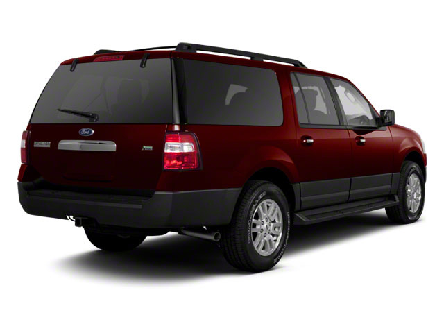 Royal Red Metallic 2010 Ford Expedition EL Pictures Expedition EL Utility 4D King Ranch 4WD photos rear view