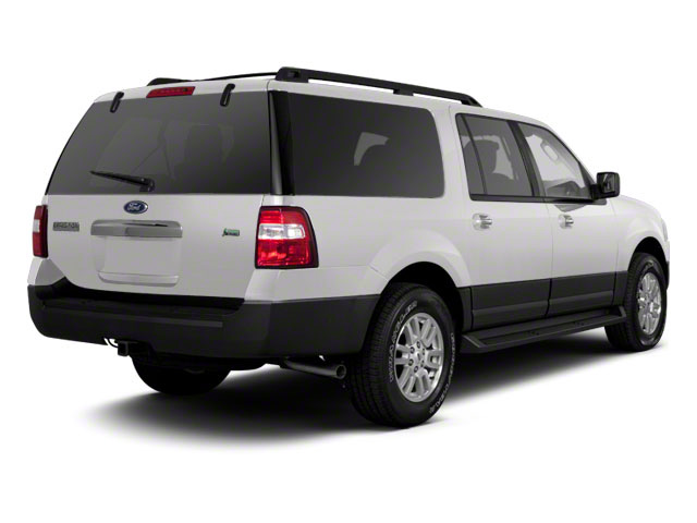 Oxford White 2010 Ford Expedition EL Pictures Expedition EL Utility 4D Eddie Bauer 2WD photos rear view