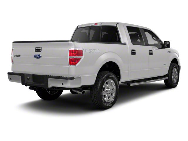 Oxford White 2010 Ford F-150 Pictures F-150 SuperCrew Lariat 4WD photos rear view