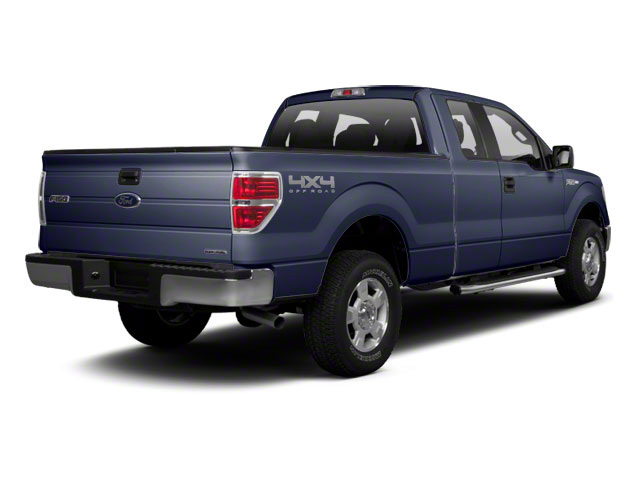 Dark Blue Pearl Metallic 2010 Ford F-150 Pictures F-150 SuperCab Lariat 2WD photos rear view