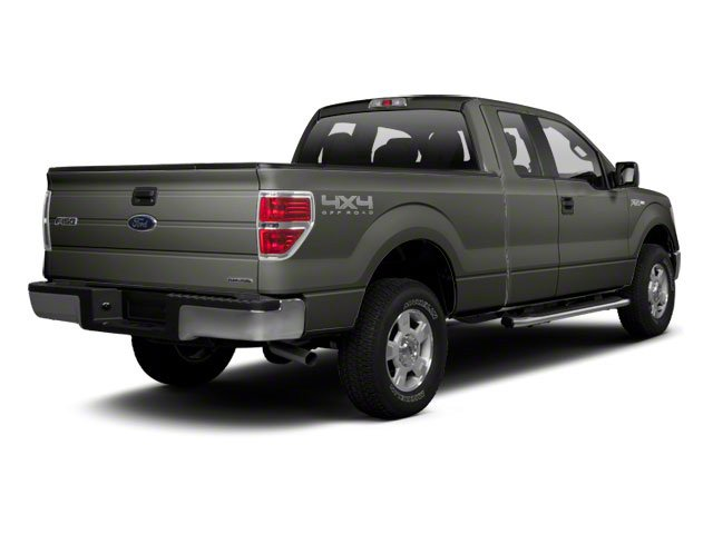 Sterling Grey Metallic 2010 Ford F-150 Pictures F-150 Supercab XLT 4WD photos rear view