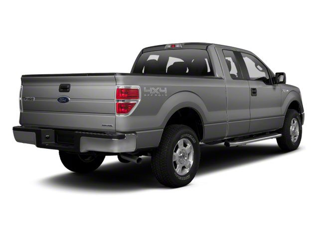 Ingot Silver 2010 Ford F-150 Pictures F-150 Supercab XLT 4WD photos rear view