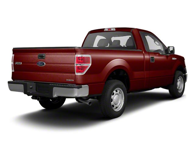 Royal Red Metallic 2010 Ford F-150 Pictures F-150 Regular Cab XLT 2WD photos rear view
