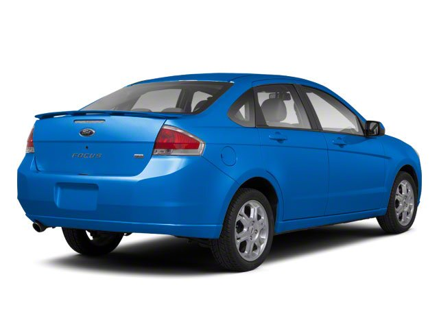 Blue Flame Metallic 2010 Ford Focus Pictures Focus Sedan 4D SE photos rear view