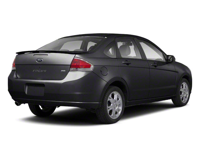 Ebony 2010 Ford Focus Pictures Focus Sedan 4D SE photos rear view