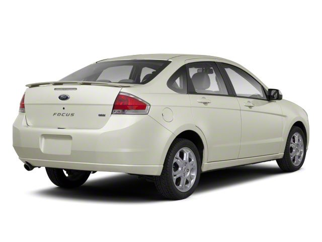 Natural Neutral Metallic 2010 Ford Focus Pictures Focus Sedan 4D SE photos rear view
