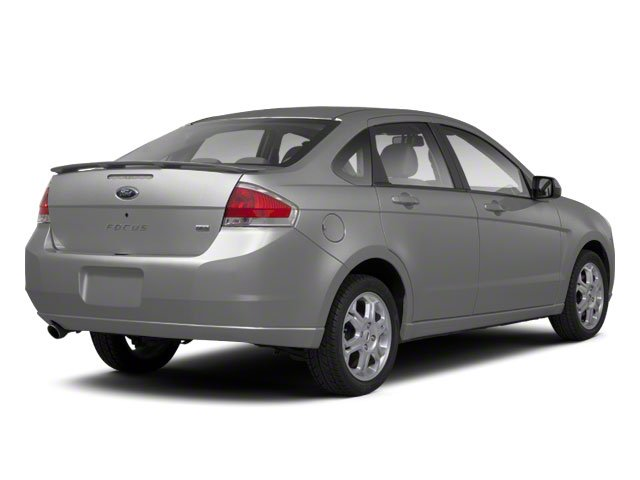 Ingot Silver Metallic 2010 Ford Focus Pictures Focus Sedan 4D SE photos rear view