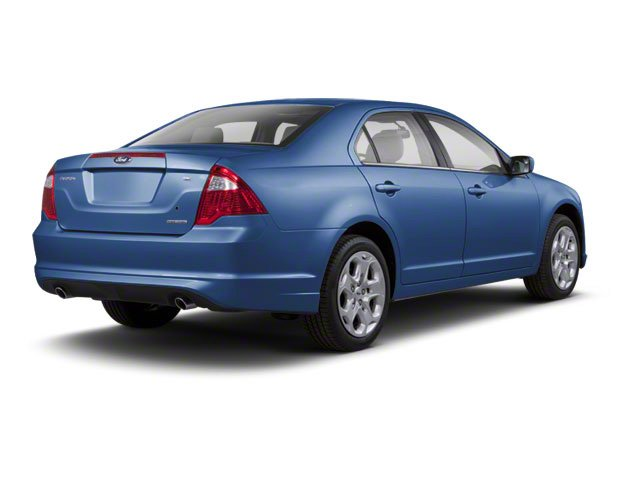 Sport Blue Metallic 2010 Ford Fusion Pictures Fusion Sedan 4D SEL AWD photos rear view