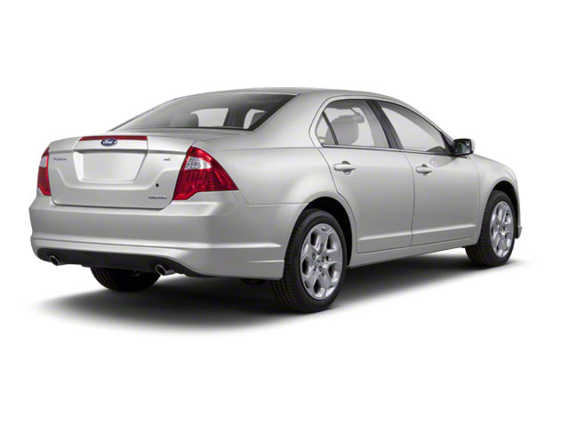 Brilliant Silver Metallic 2010 Ford Fusion Pictures Fusion Sedan 4D SEL AWD photos rear view