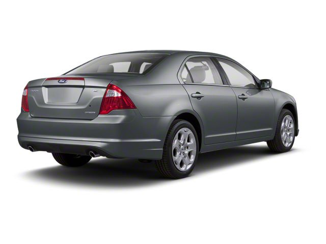 Sterling Gray Metallic 2010 Ford Fusion Pictures Fusion Sedan 4D SEL AWD photos rear view