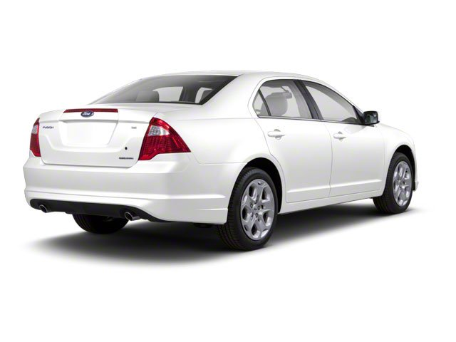 White Suede 2010 Ford Fusion Pictures Fusion Sedan 4D SEL AWD photos rear view