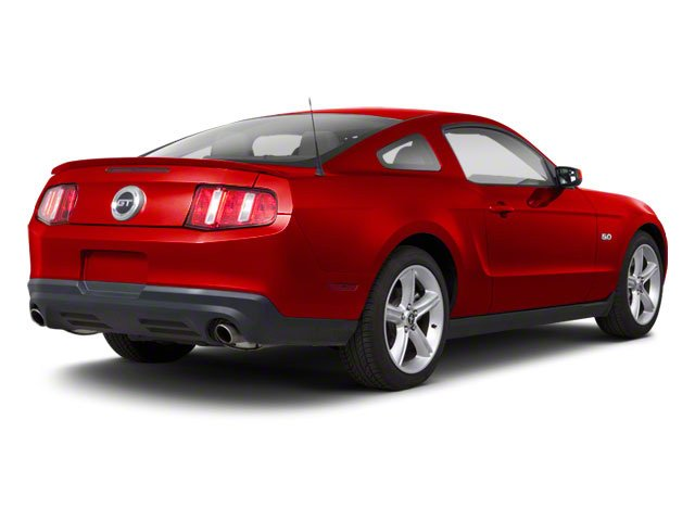 Torch Red 2010 Ford Mustang Pictures Mustang Coupe 2D photos rear view