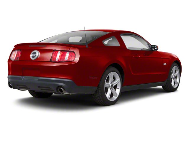 Red Candy Metallic 2010 Ford Mustang Pictures Mustang Coupe 2D photos rear view