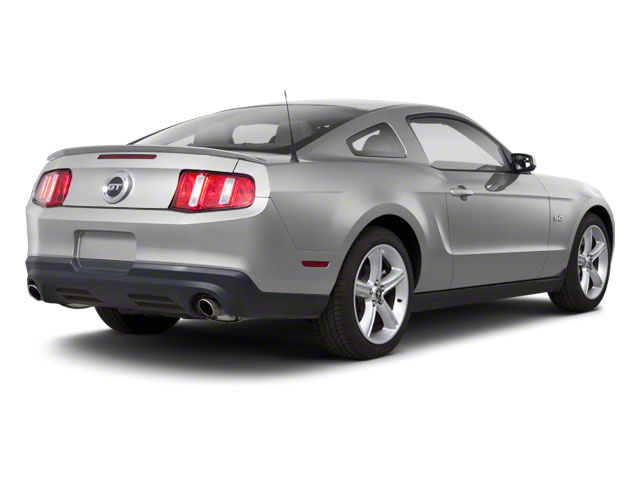 Brilliant Silver Metallic 2010 Ford Mustang Pictures Mustang Coupe 2D photos rear view