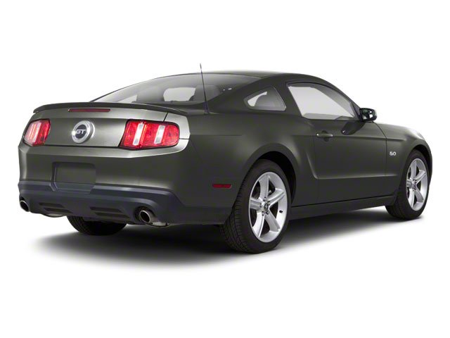 Sterling Grey Metallic 2010 Ford Mustang Pictures Mustang Coupe 2D photos rear view
