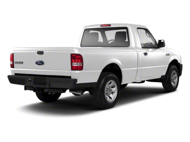 Oxford White 2010 Ford Ranger Pictures Ranger Regular Cab XLT (4 Cyl.) photos rear view