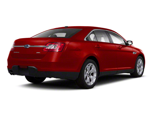 Candy Red Metallic Tinted 2010 Ford Taurus Pictures Taurus Sedan 4D Limited AWD photos rear view