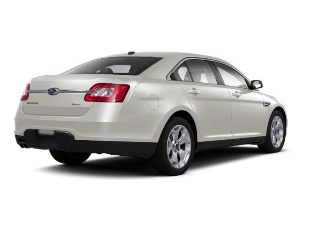 White Suede 2010 Ford Taurus Pictures Taurus Sedan 4D Limited AWD photos rear view