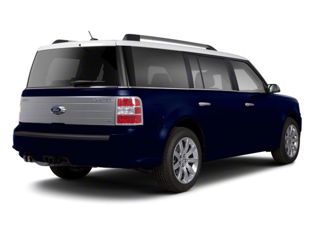 Dark Ink Blue Metallic 2010 Ford Flex Pictures Flex Wagon 4D SEL 2WD photos rear view