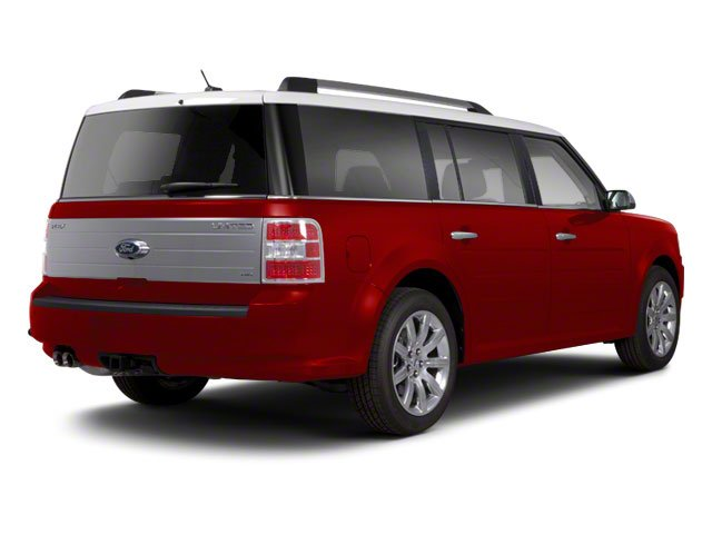 Red Candy Metallic 2010 Ford Flex Pictures Flex Wagon 4D SEL 2WD photos rear view