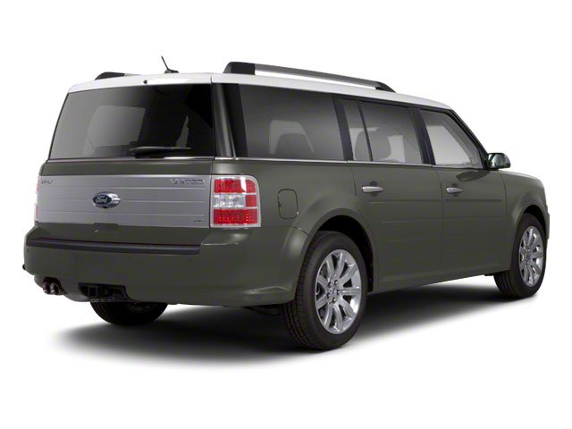Sterling Grey Metallic 2010 Ford Flex Pictures Flex Wagon 4D SEL 2WD photos rear view