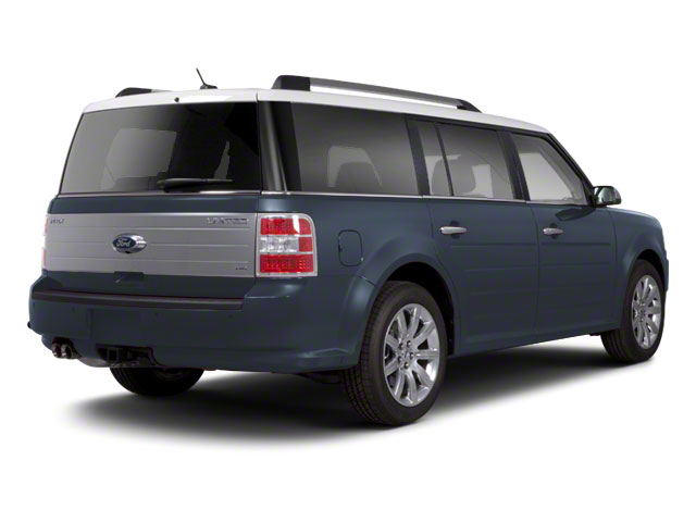 Steel Blue Metallic 2010 Ford Flex Pictures Flex Wagon 4D SEL 2WD photos rear view