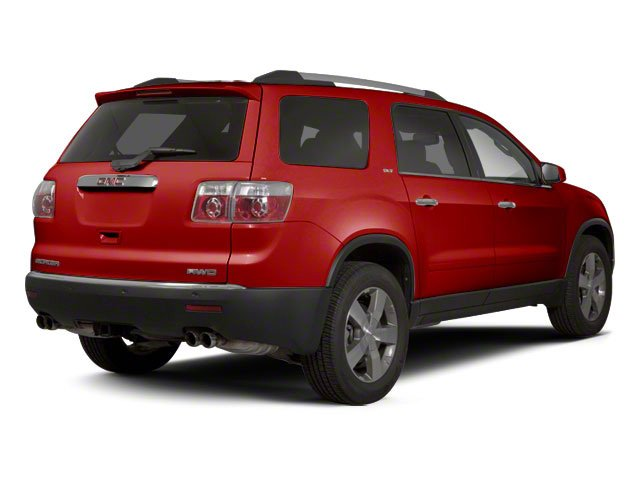 Red Jewel Tintcoat 2010 GMC Acadia Pictures Acadia Wagon 4D SLT AWD photos rear view