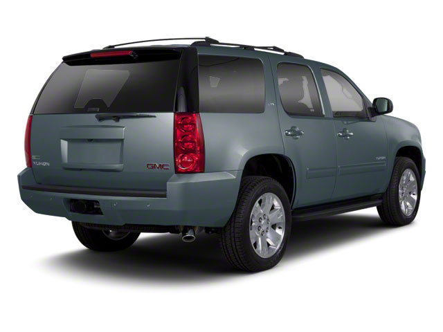 Stealth Gray Metallic 2010 GMC Yukon Pictures Yukon Utility 4D SLE 4WD photos rear view