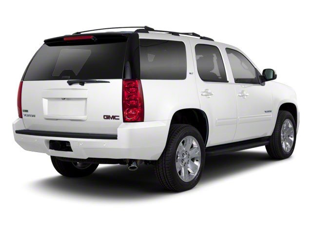Summit White 2010 GMC Yukon Pictures Yukon Utility 4D SLE 4WD photos rear view