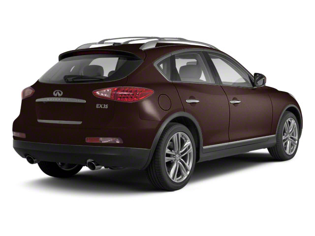 Dark Currant Metallic 2010 INFINITI EX35 Pictures EX35 Wagon 4D Journey AWD photos rear view