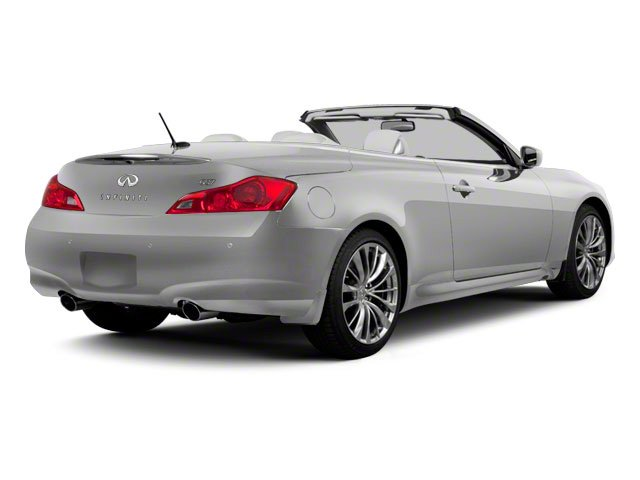Liquid Platinum 2010 INFINITI G37 Convertible Pictures G37 Convertible Convertible 2D photos rear view