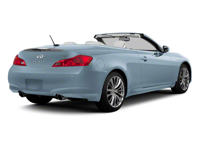 Pacific Sky 2010 INFINITI G37 Convertible Pictures G37 Convertible Convertible 2D photos rear view