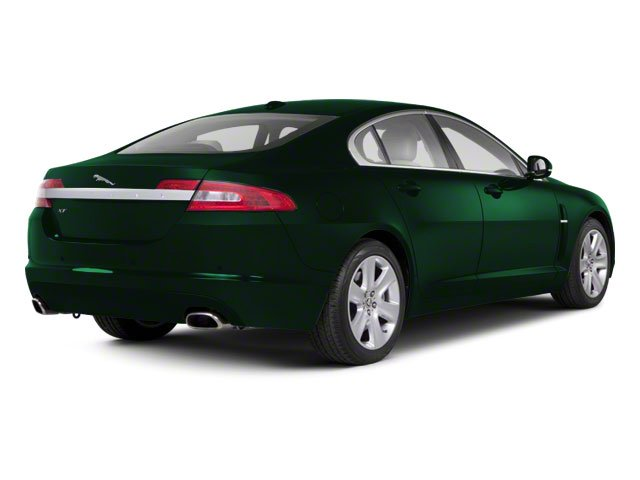Emerald Fire 2010 Jaguar XF Pictures XF Sedan 4D Supercharged photos rear view