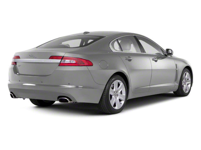 Liquid Silver 2010 Jaguar XF Pictures XF Sedan 4D Supercharged photos rear view