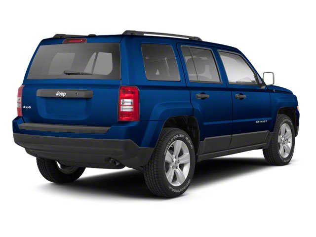 Deep Water Blue Pearl 2010 Jeep Patriot Pictures Patriot Utility 4D Sport 2WD photos rear view