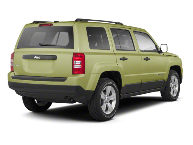 Optic Green Metallic 2010 Jeep Patriot Pictures Patriot Utility 4D Sport 2WD photos rear view
