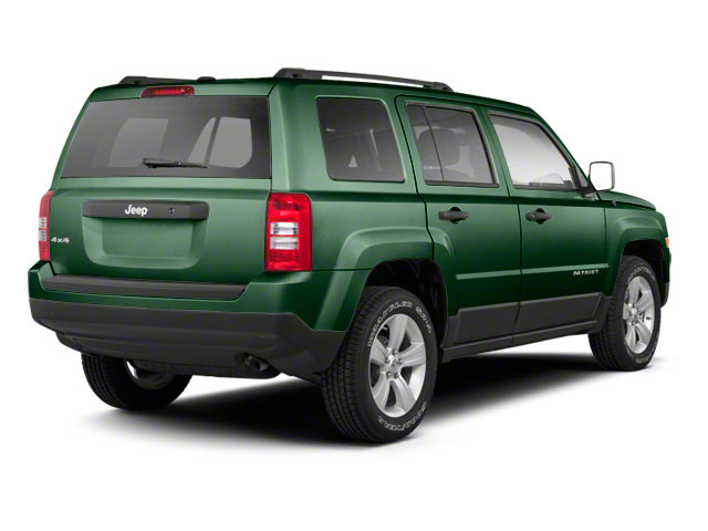 Natural Green Pearl 2010 Jeep Patriot Pictures Patriot Utility 4D Sport 2WD photos rear view