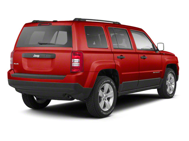 Inferno Red Crystal Pearl 2010 Jeep Patriot Pictures Patriot Utility 4D Sport 2WD photos rear view