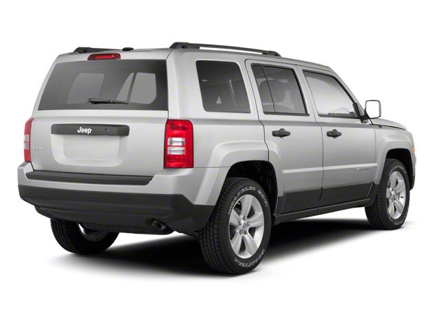 Bright Silver Metallic 2010 Jeep Patriot Pictures Patriot Utility 4D Sport 2WD photos rear view