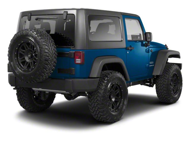 Deep Water Blue Pearl 2010 Jeep Wrangler Pictures Wrangler Utility 2D Sport 4WD photos rear view