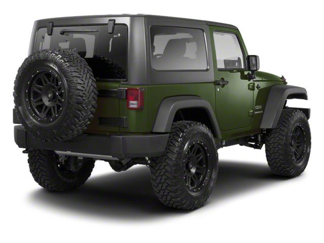 Natural Green Pearl 2010 Jeep Wrangler Pictures Wrangler Utility 2D Sport 4WD photos rear view