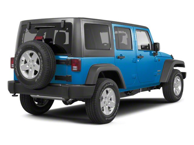 Surf Blue Pearl 2010 Jeep Wrangler Unlimited Pictures Wrangler Unlimited Utility 4D Unlimited Sport 4WD photos rear view