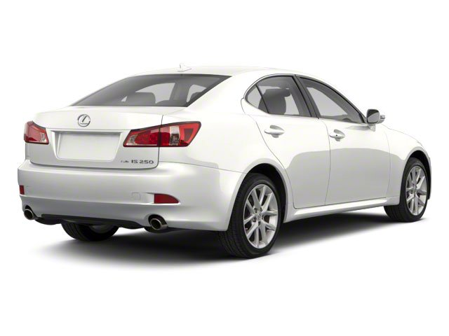 Starfire Pearl 2010 Lexus IS 250 Pictures IS 250 Sedan 4D IS250 photos rear view