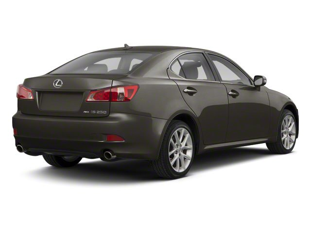 Truffle Mica 2010 Lexus IS 250 Pictures IS 250 Sedan 4D IS250 photos rear view