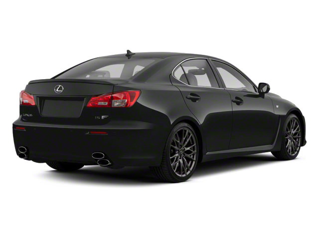 Smoky Granite Mica 2010 Lexus IS F Pictures IS F Sedan 4D IS-F photos rear view