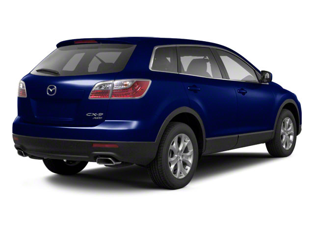 Stormy Blue Mica 2010 Mazda CX-9 Pictures CX-9 Utility 4D Touring AWD photos rear view