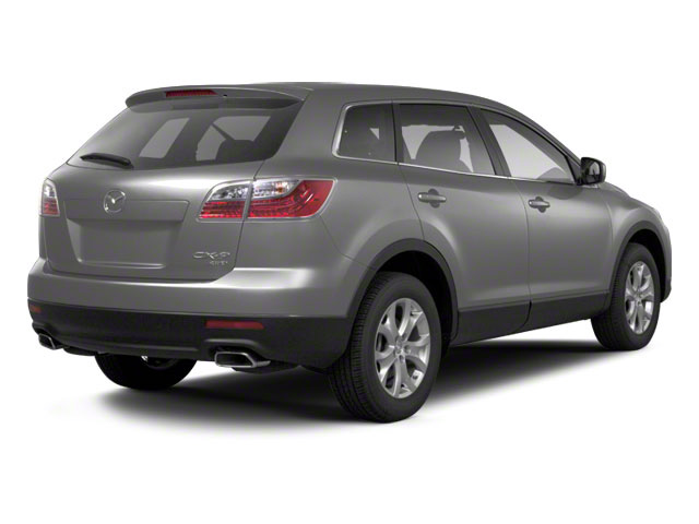 Liquid Silver Metallic 2010 Mazda CX-9 Pictures CX-9 Utility 4D GT 2WD photos rear view